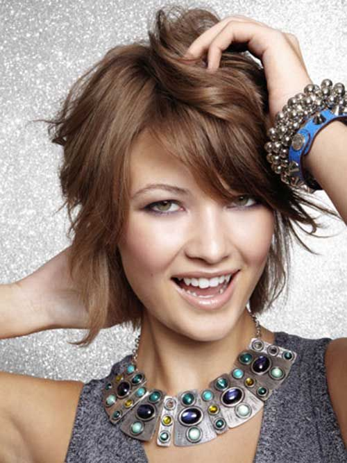 Short Textured Hair Styles for Stylish Ladies //  #Hair #ladies #Short #STYLES #Stylish #textured