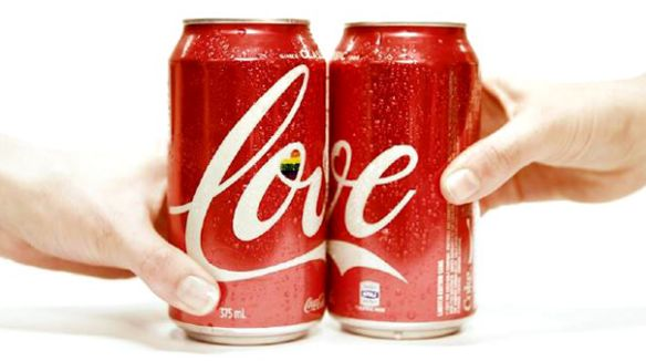 We <3 Australia's Limited Edition Coca-Cola to Support Marriage Equality — The Dieline | Packaging & Branding Design & Innovation News