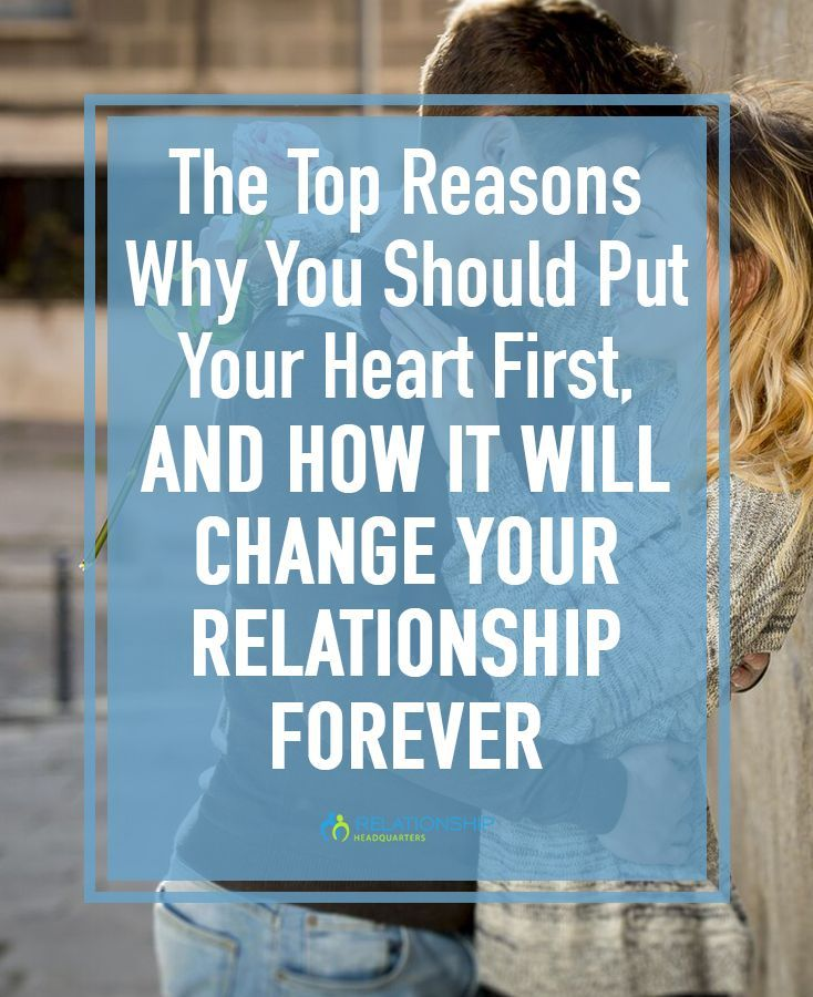 Putting your heart first will help your relationship in ways you can't even imagine, and bring you and your man closer together than ever.
