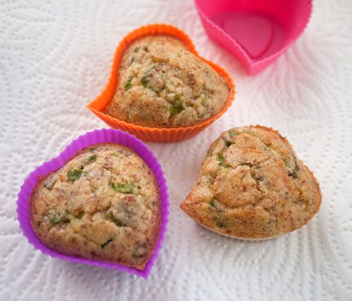 Green onion and Thyme low-carb gluten free muffins. They taste like stove top stuffing. Seriously.