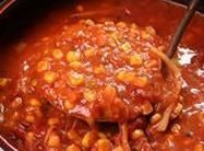 """I love the Brunswick Stew I had at Smokey Bone's Restaurant here in Michigan. So I started playing around with the recipe""""s I looked at to make this one my own and close to the one I fell in love with. It's so good, & freezes well for later."""