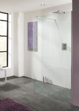 Lakes Bathrooms Coastline 320mm Wet Room Shower Screen