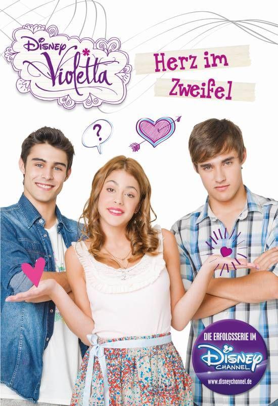 TV News: Deutschland im Violetta Fieber! Neue Produkte zum Start der zweiten Staffel im Disney Channel plus Gewinnspiel