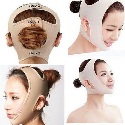 Компрессионная маска для лица- Бандаж - подтягивает контуры лица,убирает второй подбородок. Лифтинг лица еще не был настолько прост и эффективен .