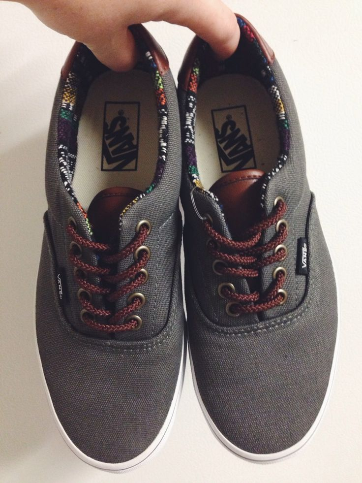 vans authentics w/ native print lining