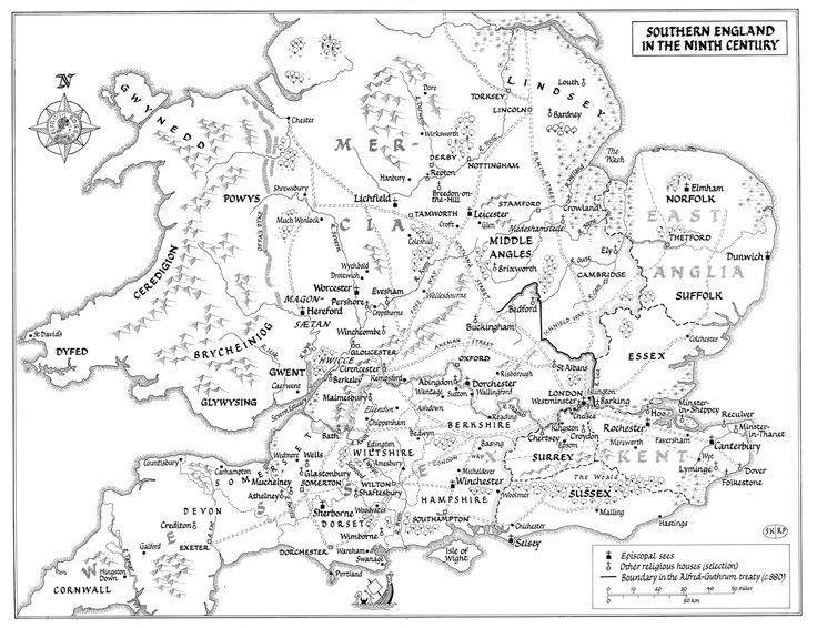 Map Of England 9th Century.Physical Map Of England 9th Century Best Cars 2018