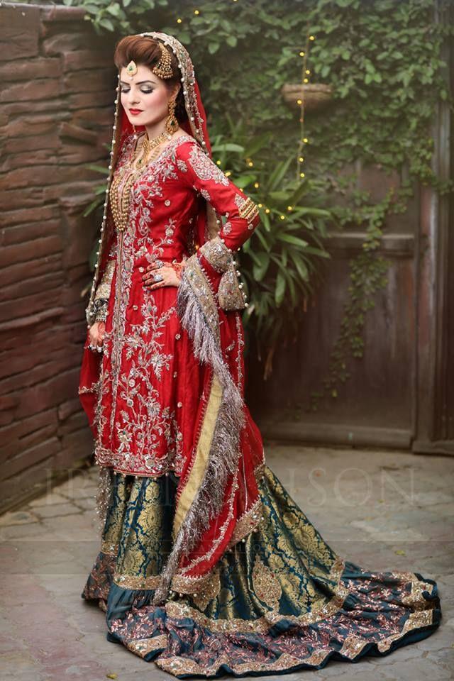 Images of beautiful pakistani bridal dresses