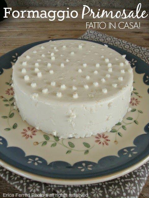 Ogni riccio un pasticcio - Blog di cucina: Formaggio Primosale e ricotta fatti in casa con foto passo passo!