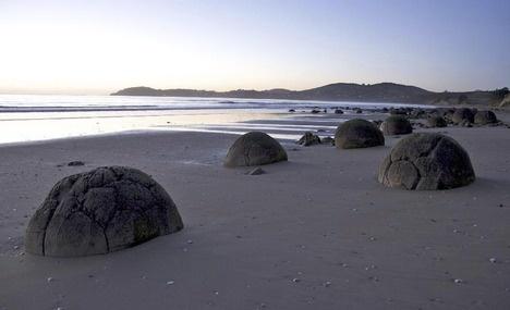 Moeraki Boulders in Dunedin
