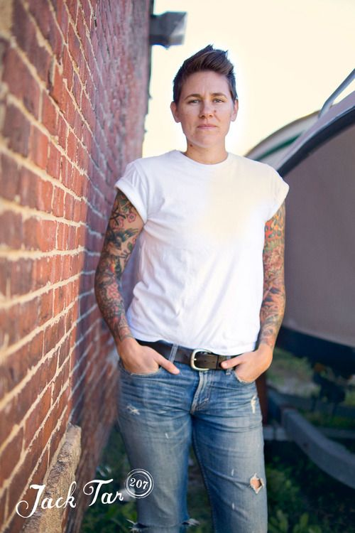 Lesbian butch and pretty