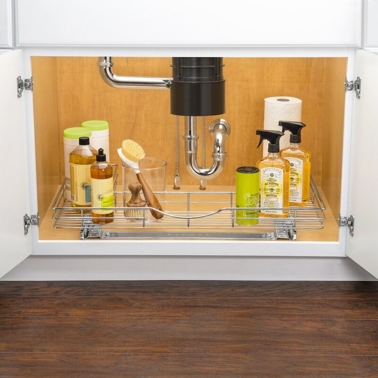 Best Lynk Professional U Shaped Slide Out Under Sink Pull Out 400 x 300