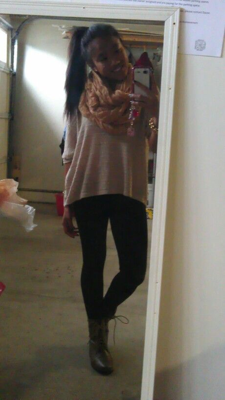 A simple outfit for school