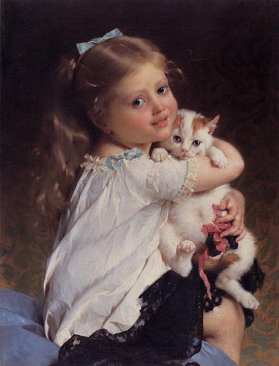 Emile Munier - Her Best Friend (1882)
