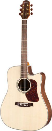 Walden D710CE Acoustic Cutaway Electric Guitar * Be sure to check out this awesome product.