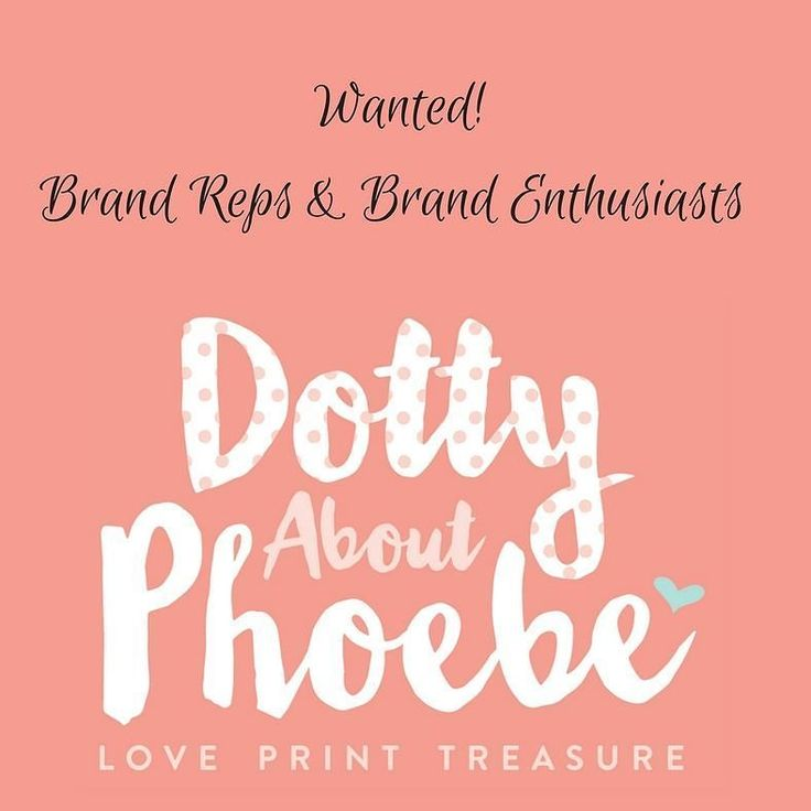 We are excited to announce that our brand enthusiast search has begun!  We are looking for at least two Brand Reps/Enthusiasts to join our team and help us grow Dotty about Phoebe this summer. Brand Reps will receive a free keepsake gift 30% off our handmade keepsakes & a discount code to share with family and friends Brand enthusiasts will receive 30% off our handmade gifts and a unique discount code to share with family and friends in return we ask to be tagged in bright clear high quality…