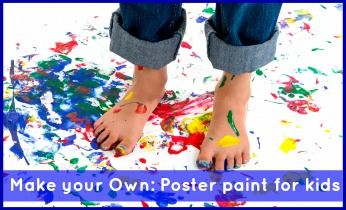 Poster Paint - Make Your Own - Activities For Kids