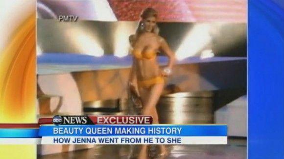 Transgender Miss Universe Video Interview [Good Morning America]