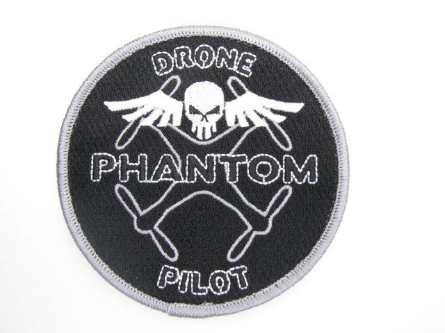 DJI Phantom Drone Inspire Pilot RC Radio Control Quad Copter Helicopter Patch Badge Velcro New by MilitaryMahogany on Etsy