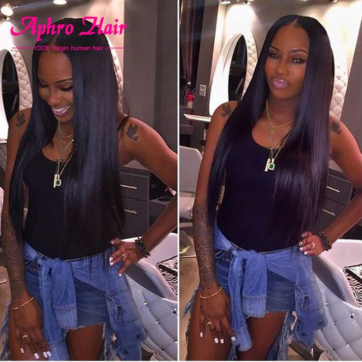 77 best straight hair images on pinterest wig straight hair and details about brazilian virgin hair weave bundles straight remy pmusecretfo Image collections