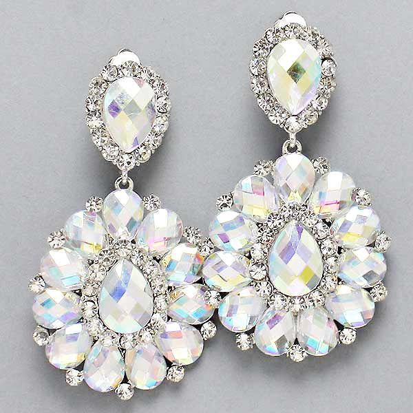 17 best ideas about Pageant Earrings – Clip on Earrings Chandelier