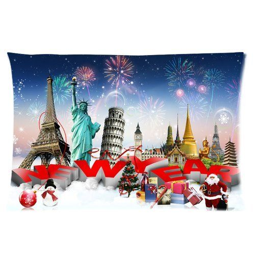 Merry Christmas Perfect Home Decoration Gift Custom Rectangle Pillow Case 16x24 one side >>> You can find more details by visiting the image link.