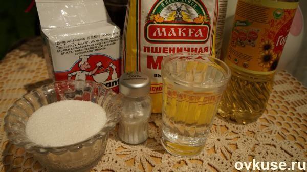 Элементарное тесто для пирожков