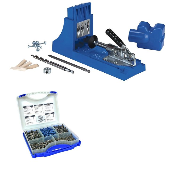 Kreg K4 Pocket Hole System and Screw Kit In 5 Sizes