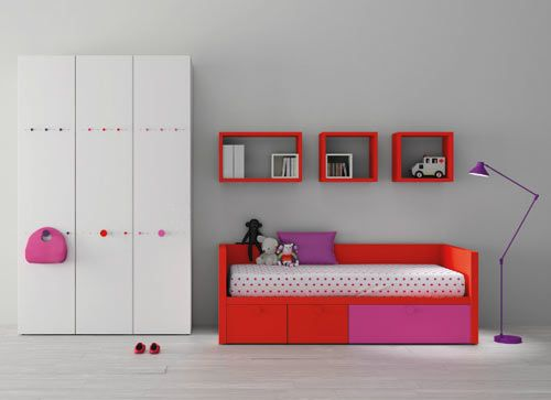 Spanish company BM makes some of the coolest furniture for babies all the way through young adults. Their original designs are made for all types of young people and will grow with the child through the years until you're practically married.