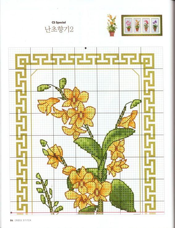 Gul blomst del 1