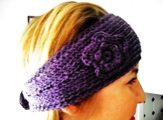220 Best Crochetknit Headbandearwarmers Images On Pinterest Knit