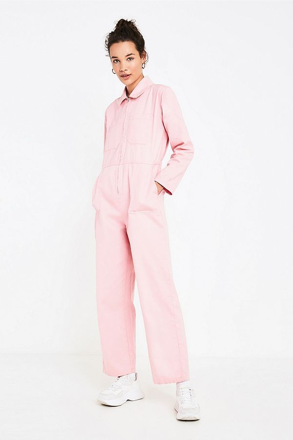 bc873c260efd UO Rosie Pink Utility Jumpsuit in 2019 | dream wardrobe | Jumpsuit ...