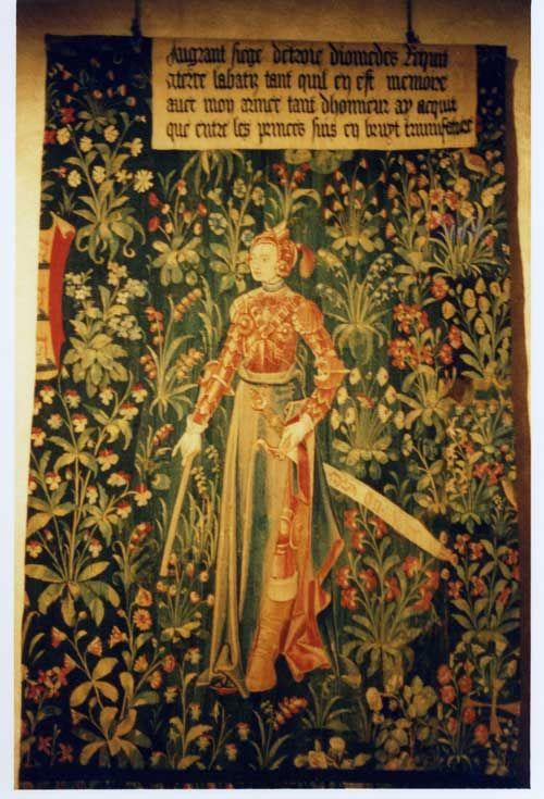 Penthésilée, reine des Amazones et Preuse, une image de la femme guerrière à la fin du Moyen Âge