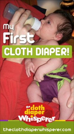 The Cloth Diaper Whisperer: My First Cloth Diaper
