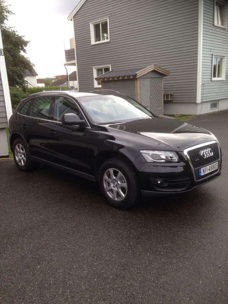 Nye bilen vår. new car