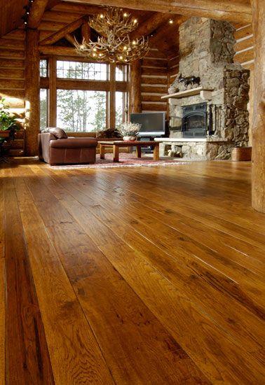 (Flooring) Hickory Living Room