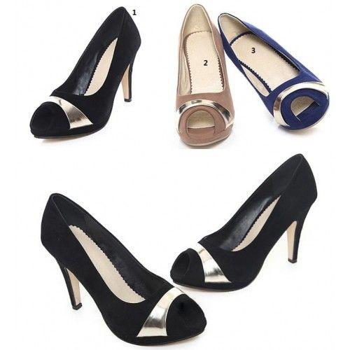 Toes Moda Peep Piattaforma tacchi alti sandali Su Misura 32 33 34 35-43