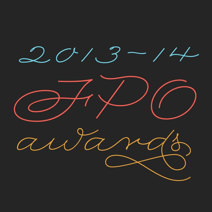 2013-2014 FPO Awards Logo