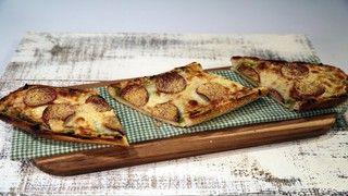 Homemade French Bread Pesto & Pepperoni Pizza Recipe | The Chew - ABC.com