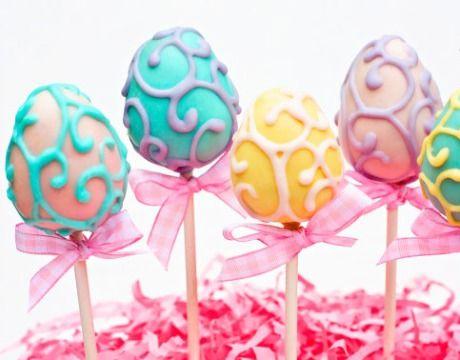 for Paula... Easter Egg Cake Pops...