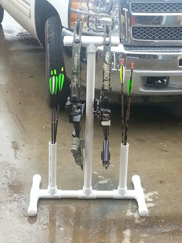 Quick pvc bow stand