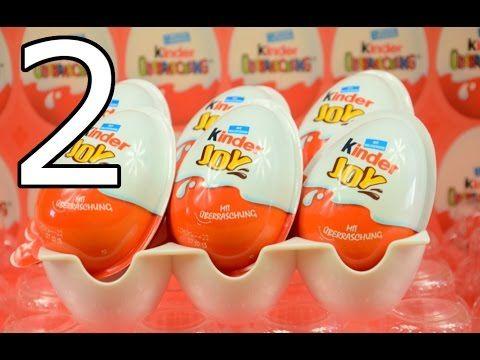 6 NEW kinder joy surprise egg opeining #2