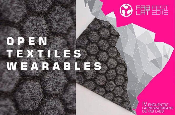 No se pueden perder nuestra agenda de hoy! Taller de Open Textiles WEARABLES en Fab Lab Santiago dentro del Marco del Fab Lat Fest 2016. HORA: 12:00 PM - 15:00 PM  Via Streaming por FabLat TV Los esperamos!!! #fablatfest2016 #fabfest #costarica #Santiago #mexico #venezuela #ecuador #bolivia #brasil #paraguay #chile #argentina #colombia #openday #fablat2016 #impresion3D #arduino #robotica #DIY #Maker #Fabber #CNCMilling #3Dprinting #Streaming #diseño #cortelaser by fab.lat