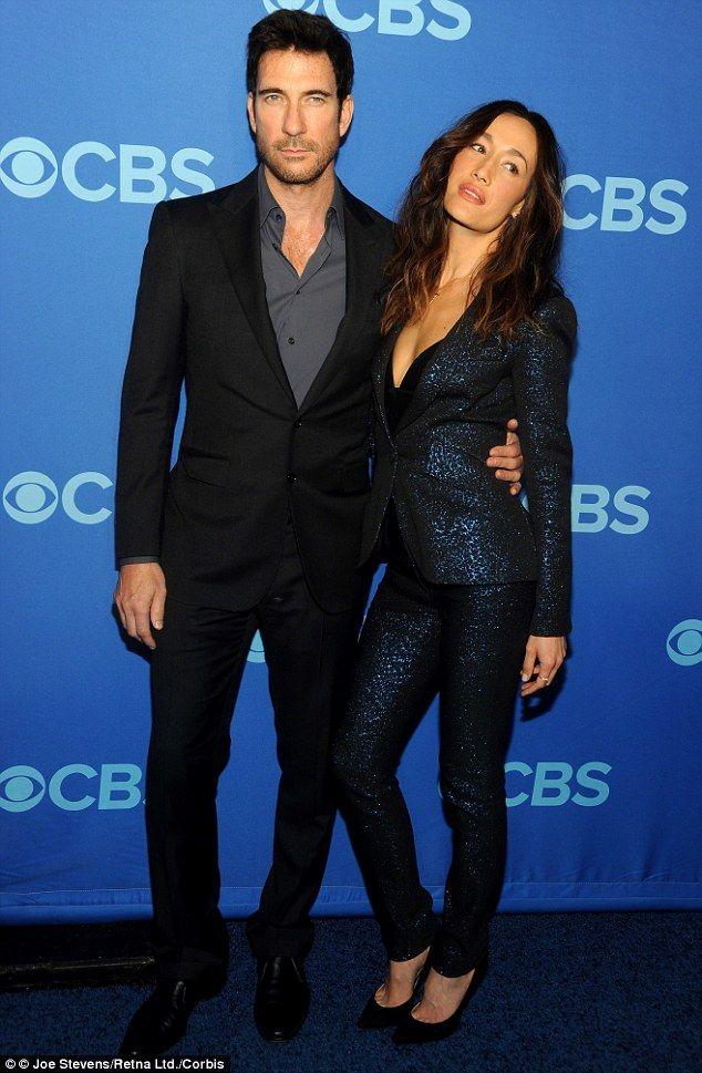 Dylan McDermott & Maggie Q: Stalker Co-Stars Are Dating