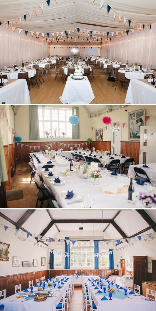 Village Hall Wedding Ideas ~ UK Wedding Blog ~ Whimsical Wonderland Weddings