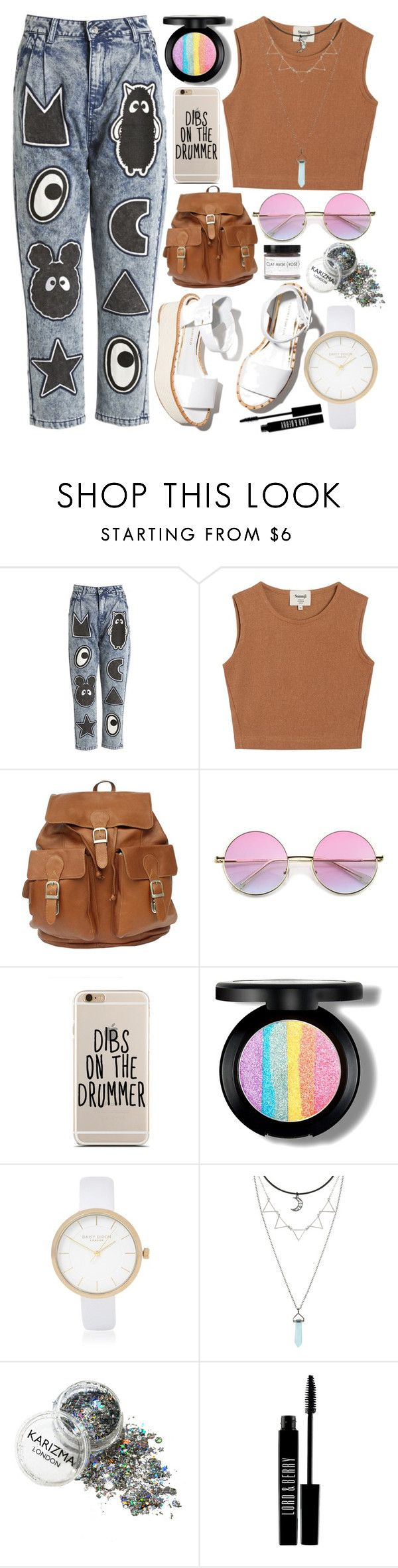 """""""Untitled #762"""" by natallie ❤ liked on Polyvore featuring Mini Cream, Samuji, Paloma Barceló, River Island, Lord & Berry and Fig+Yarrow"""