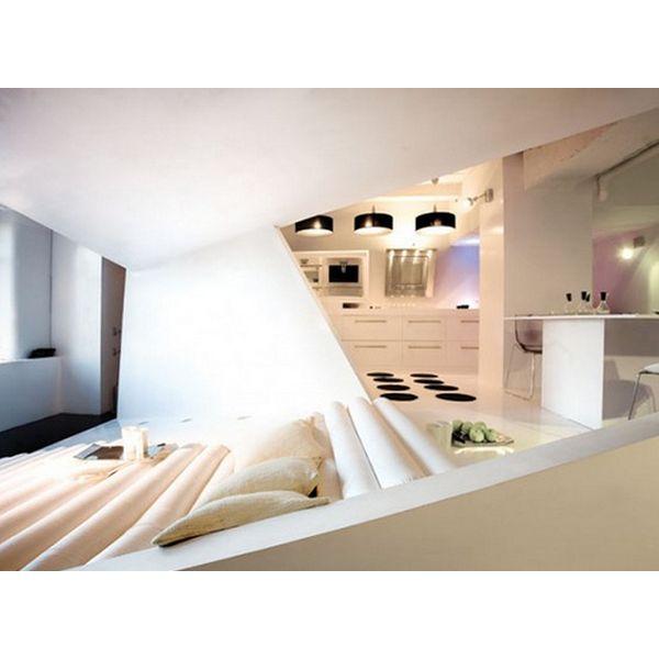 die 34 besten bilder zu spots ♥ auf pinterest | industrie-stil ... - Weisse Wohnung Futuristisch Innendesign