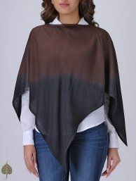 Buy Grey Ivory Handloom Cotton Shrug by Jaypore The Label Earn Your Stripes Organic and khadi separates for a contemporary summer Online at Jaypore.com