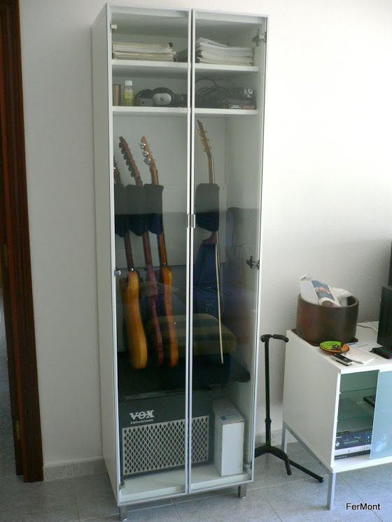 building a kitchen cabinet guitar storage ikea diy guitar 4968