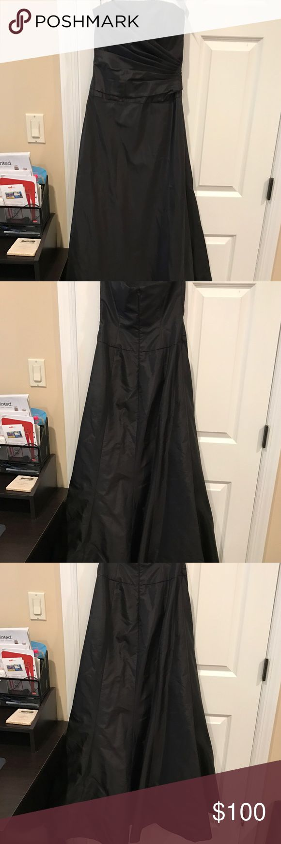 Black Amsale Formal Gown Beautiful brand new Formal Gown. Perfect for Formal wedding. amsale Dresses Wedding