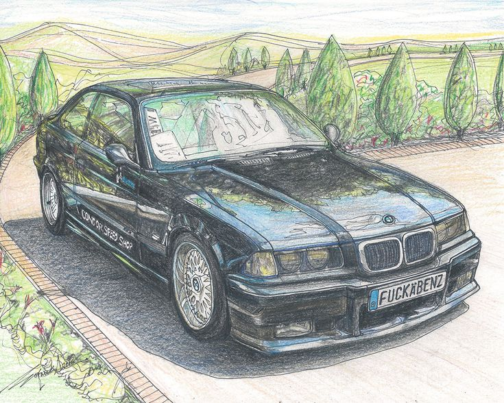 1999 BMW M3 (E36) by TimelessForever on Etsy